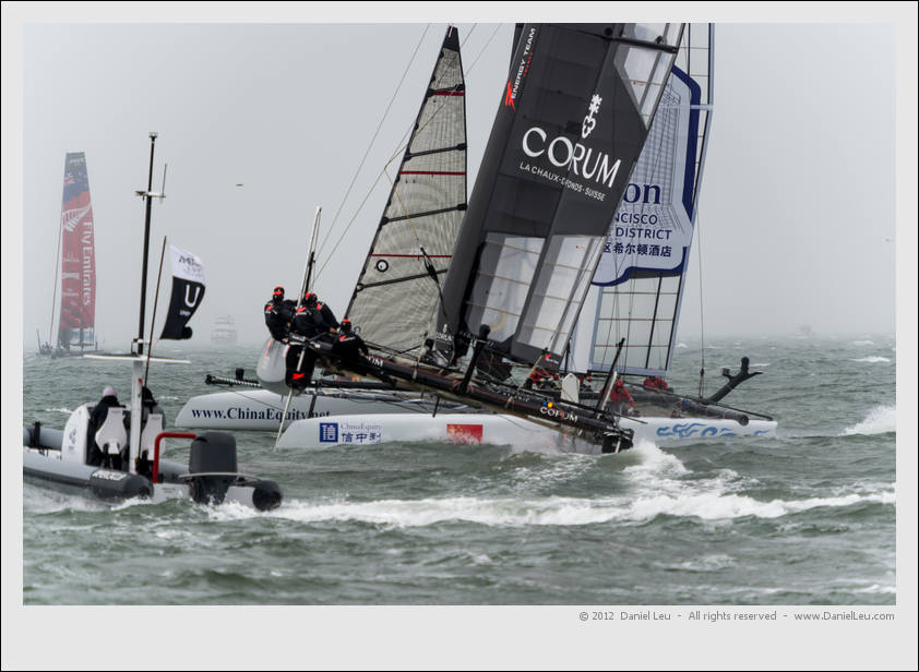 Energy Team and Team China on collision course...