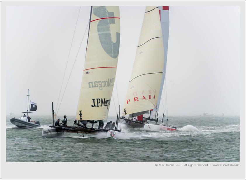 J.P. Morgan BAR and Luna Rossa Swordfish
