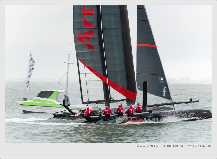 Artemis Red competed against itself as Team China could