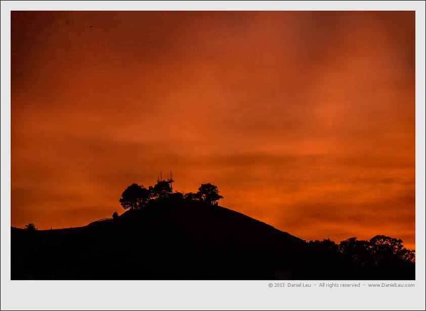 Bernal Heights silhouette #1 – San Francisco