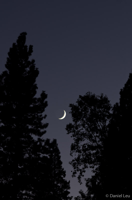 Crescent Moon - Yosemite Valley