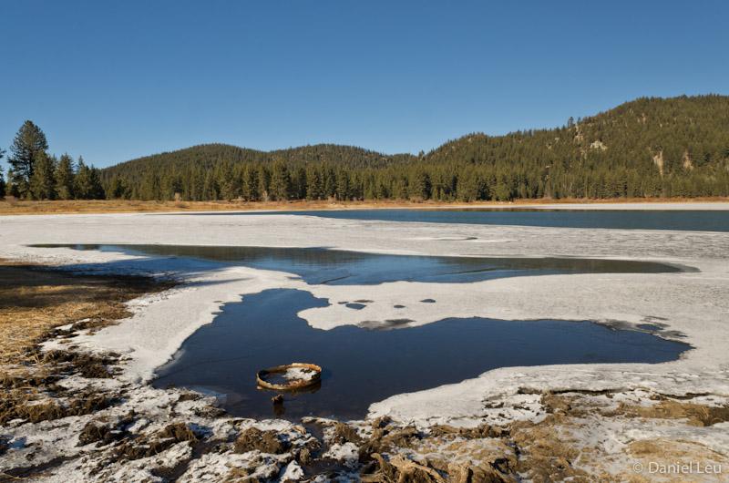 Frozen Spooner Lake