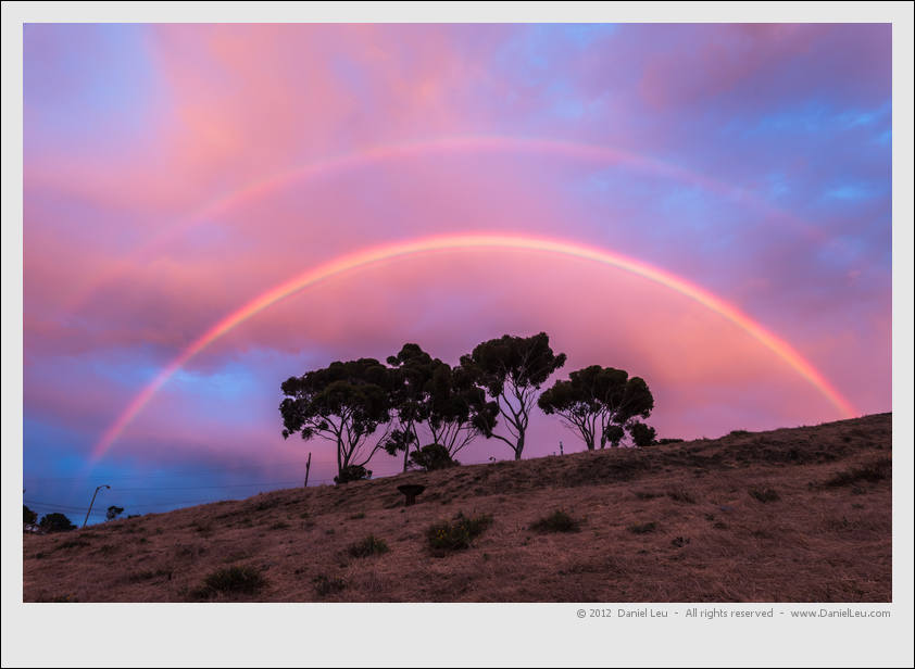 Double Rainbow over Starr King Openspace