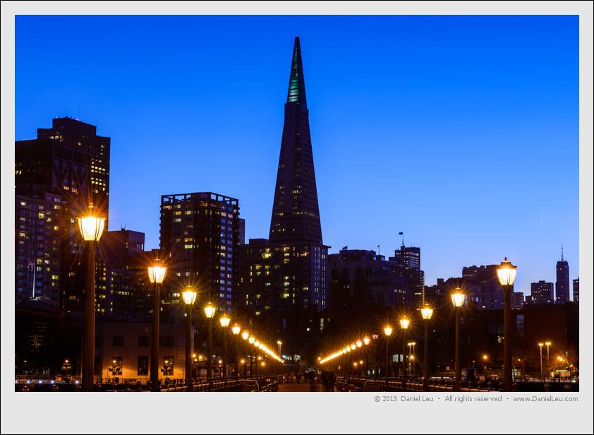 Leading lines to TransAmerica tower