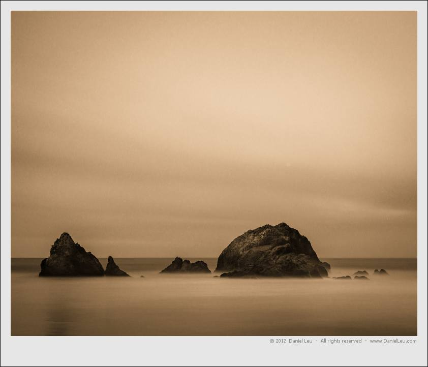 Rock studies 1: Sutro Baths – San Francisco