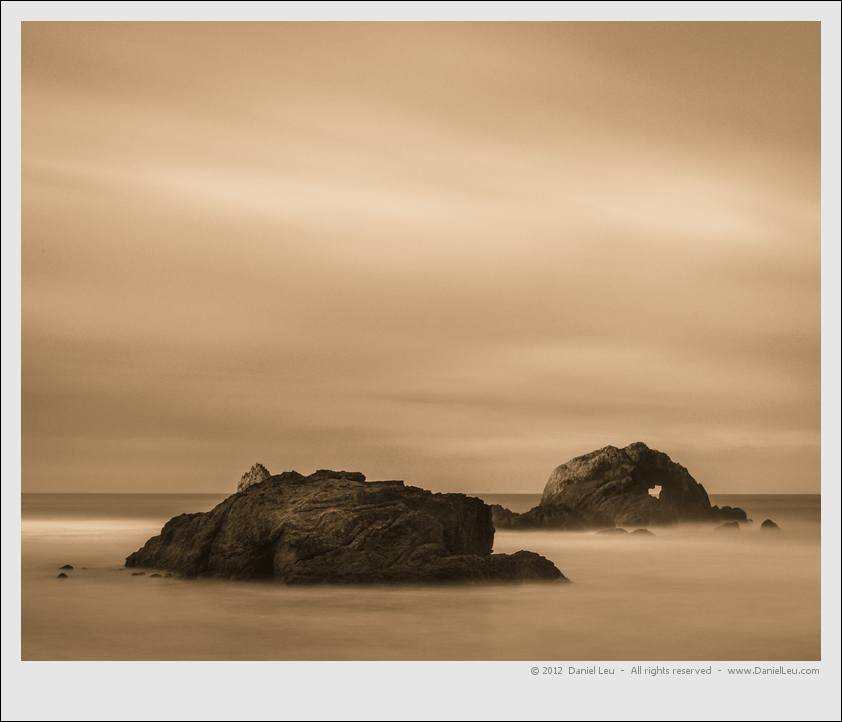 Rock studies 2: Sutro Baths – San Francisco