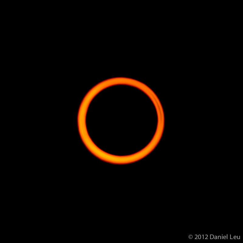 Annular Eclipse with Fire Ring